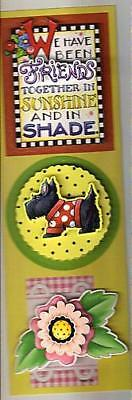 Mary Engelbreit Stickers with Henry the Scottie Dog