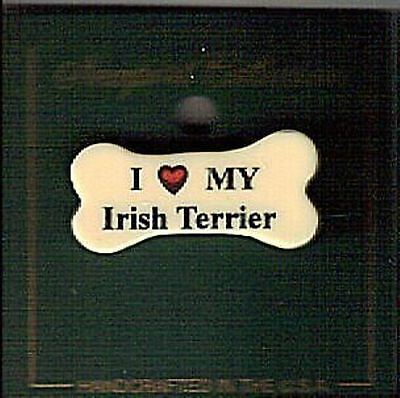 1 Irish Terrier Dog Pin - Tie Tack Back