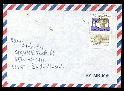 Israel 1989 Airmail Cover To Germany #C7081