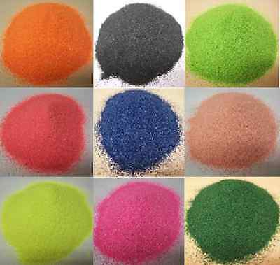 500G Coloured Sand Artists Crafts 34 Colours To Choose From Multi Packs Also