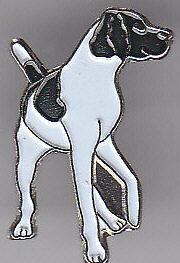 Pointer (Long Tail) dog breed LAPEL PIN