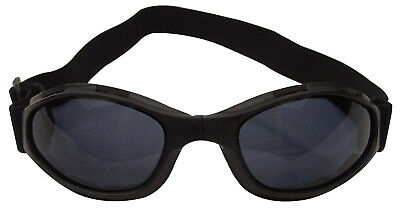 Tactical Goggles Black Collapsible Rothco 10367