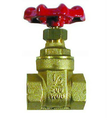 "Brass 1"" BSP Female Thread Quality Heavy Duty Gate Valve."