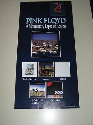 PINK FLOYD - Orig. Promo Poster / Momentary Lapse / exc. new cond.