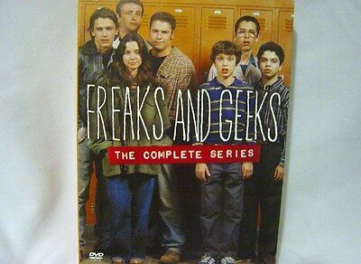 Freaks and Geeks - The Complete Series (DVD, 6 Disc Boxed Set)EXCELLENT CONDITIO