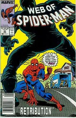 Web of Spiderman # 39 (USA, 1988)