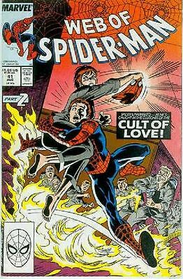 Web of Spiderman # 41 (USA, 1988)