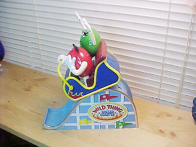 M & M Mars WILD THING ROLLER COASTER No Box