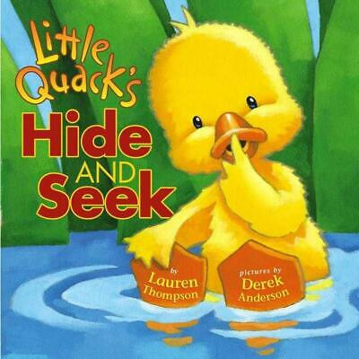 Little Quack's Hide and Seek by Lauren Thompson (English) Board Books Book Free