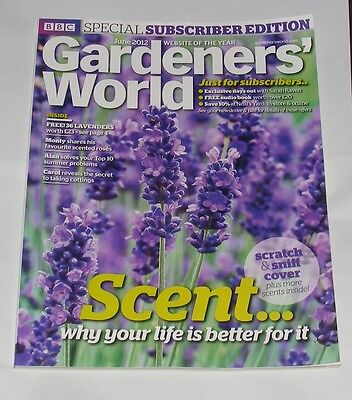 Gardeners' World June 2012 - Scent Issue/monty On Roses/fuchsias/courtyard Plans