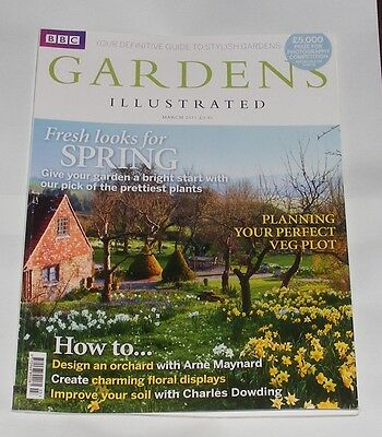Gardens Illustrated March 2011 - Fresh Looks For Spring/how To Design An Orchard