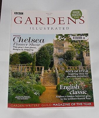 Gardens Illustrated May 2008 - Chelsea Flower Show Preview/english Classic
