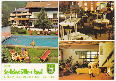 Campo Tures - Sand In Taufers - Bolzano - Hotel Seldmuellerhof - Viagg. -52223-