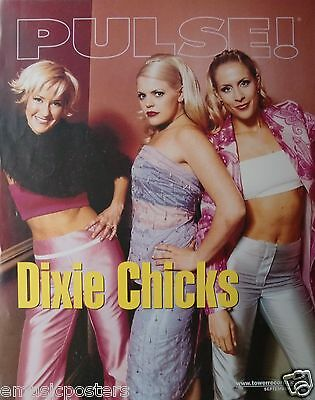 """DIXIE CHICKS """"PULSE"""" U.S. PROMO POSTER - Country Bluegrass Rock Music"""