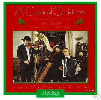 CD: A Classical Christmas for Accordion & Orchestra