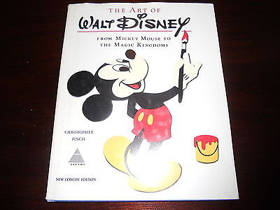 The Art of Walt Disney New Concise Edition Christopher Finch From Mickey Mouse