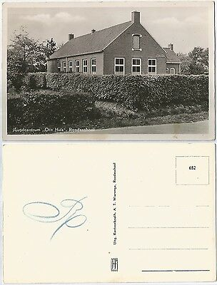 CPSM postcard School Education Jeugdcentrum Ons Huis ROODESCHOOL Holland [730 R]