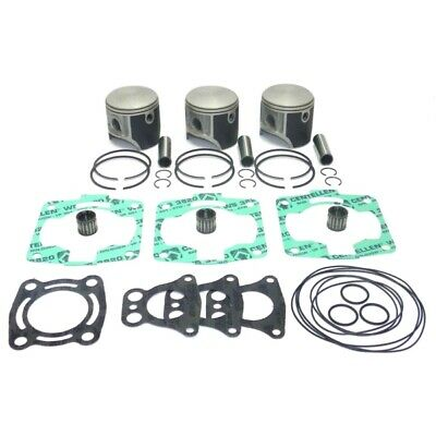 Polaris 1050 Sl Slx Sltx Triple Top End Piston Kit Rings Pin Clips With Gaskets