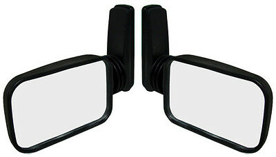 2~Adjustable Side View Wing Mirror For VW Beetle Bug Dune Buggy Sand Rail Hotrod