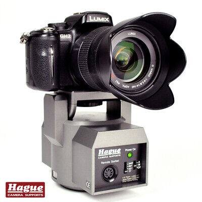 Hague Motorized Pan & Tilt Remote Control Power Head For DSLR Cameras Camcorders