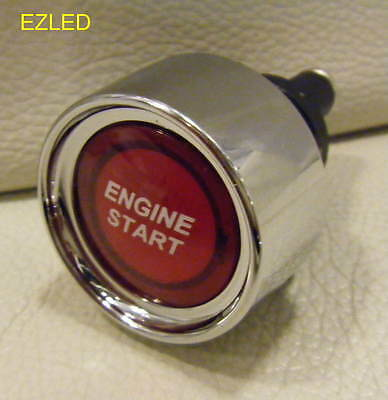 MOTORSPORT PUSH BUTTON RED ILLUMINATED ENGINE START SWITCH 12V 50amp  BRAND NEW