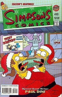 Bongo comics Simpsons #52 52 Bart Homer American Edition NM FREE UK POST