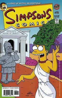 Bongo comics Simpsons #70 70 Bart Homer American Edition NM FREE UK POST