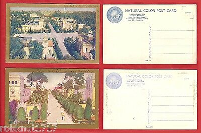 LOT 2 CPA Entrance Palaces California Pacific Int Exposition SAN DIEGO USA A