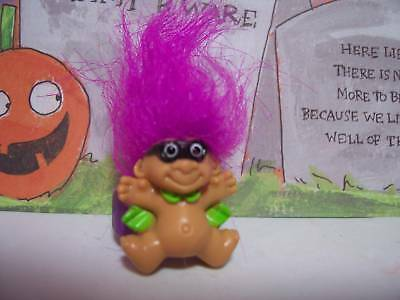 HALLOWEEN MASKED MAN RING - Russ Troll Dolls - NEW - Very Rare