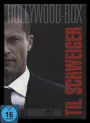 Dvd Til Schweiger Hollywood Box - 2 Filme - The Bodyguard & U-Boat *** Neu ***