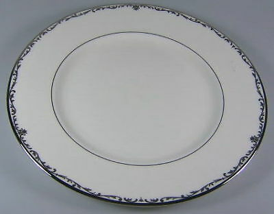 Lenox Coronet Platinum Dinner Plate + 1 Salad Plate + 1 Accent Plate NEW