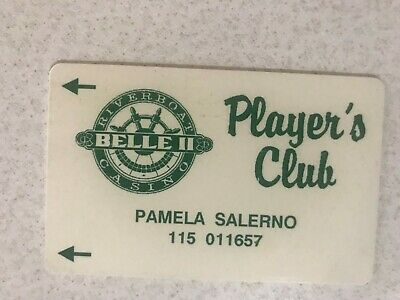 Mississippi Belle II Riverboat Casino Vintage Slot Machine Card Las Clinton Iowa