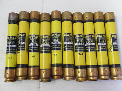 Nice Lot Bussmann LPS-RK-2SP 2 Amp Fuses Low Peak 600 VAC