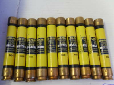 Nice Lot Bussmann LPS-RK-1SP 1 Amp Fuses Low Peak 600 VAC