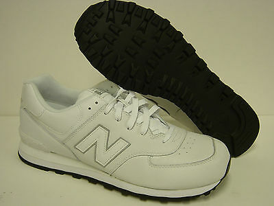 NEW Mens NEW BALANCE 574 AW White Retro Classic Sneakers Shoes