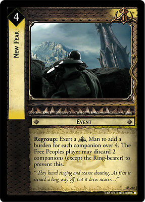 LOTR TCG Axe of Erebor x2 4R41 The Two Towers Lord of the Rings MINT x2