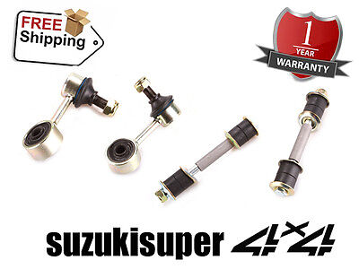 4 Mitsubishi Pajero NH NJ NK NL Front + Rear Sway Bar Link Set Stabilizer 91-00