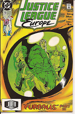JUSTICE LEAGUE EUROPE # 13 * Chris Sprouse artwork