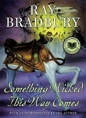 Something Wicked This Way Comes by Ray Bradbury (English) Hardcover - Deckle Edg