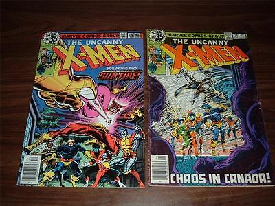 X-men 118-200---(includes 5 annuals)--total of 44 comic books in the lot