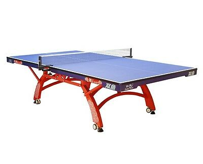 "(1"", ITTF) Double Fish 328A 328 Ping Pong table tennis table. local pick up/ship"