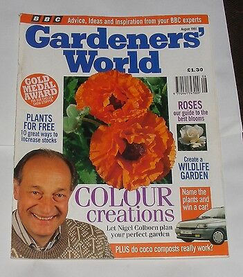 Gardeners' World August 1991 -Roses/colour Creations/create A Wildlife Garden