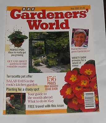 Gardeners' World May 1992 - Perfect Pots/salad Days/variety Show