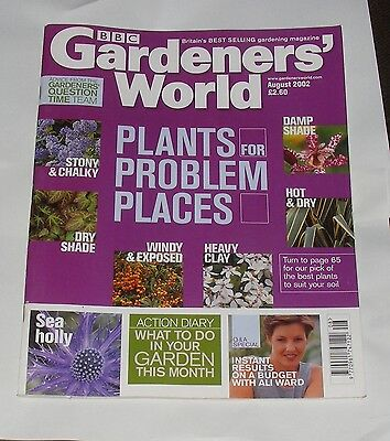 Gardeners' World August 2002 - Plants For Problem Places/sea Holly