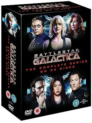 BATTLESTAR GALACTICA (2003-2009) COMPLETE New Reimagined Series Rg2/4 DVD not US