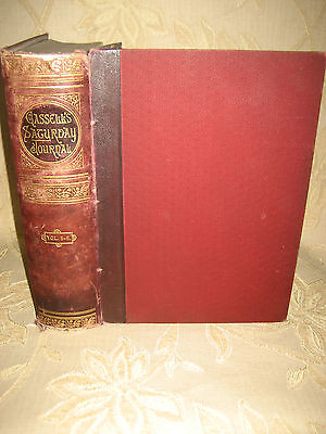 Antique Collectable Book Of Cassell's History Of England Vol. V - VI, - c1880