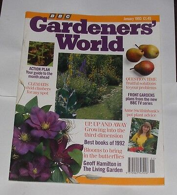 Gardeners' World January 1993 - Clematis/blooms To Bring In The Butterflies