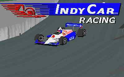 Papyrus Indy Car Racing for PC MS DOS Game Sierra