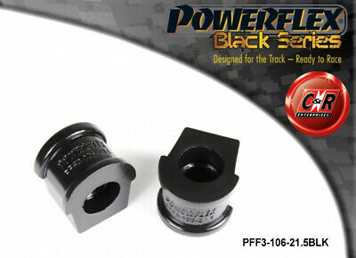 Audi S2 Coupe B3 91-96 Powerflex Black Frnt ARB-Ctrl Arm Bushes PFF3-106-21.5BLK