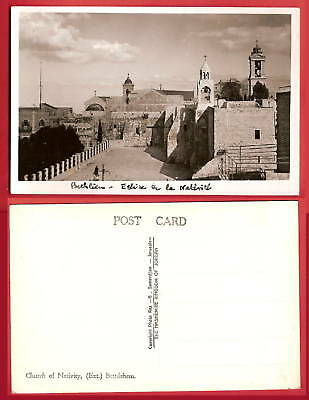 CPSM postcard Church of Nativity Eglise de la Nativité BETHLEHEM A